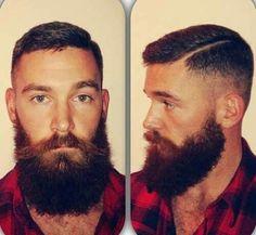 Lumber jack haircut