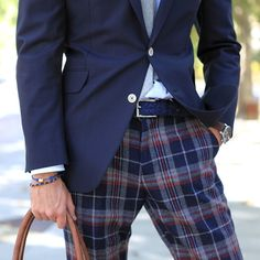 If you don't have a pair of stylish plaid pants like these, you probably haven't bought a pair. -BR