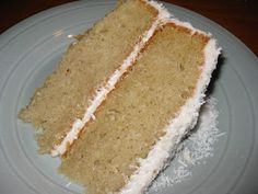 The gluten & dairy free version of the Barefoot Contessa's Coconut Cake | Allergy Free Alaska Allergy Free Alaska - hailed as a favorite recipe even with the gluten-eaters!