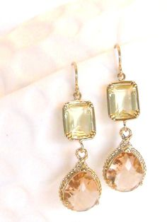 I adore these. Lovely warm tones.  #earrings #jewellery #fashion