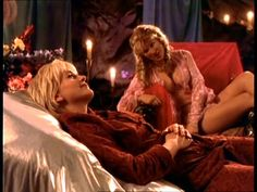"Gabrielle and Aphrodite ""Punch Lines"" Anna Hutchison, Xena Warrior Princess, Old Movies, Aphrodite, Hercules, Movies And Tv Shows, Punch, Movie Tv, Sci Fi"