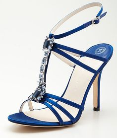 Ivanka Trump P-Abilene High Heeled Sandal ... I have some purple ones that are similar to these. so pretty!