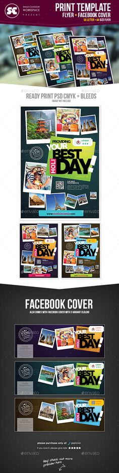 Travel Holiday Flyer Template PSD #design Download: http://graphicriver.net/item/travel-holiday-flyer/13959319?ref=ksioks