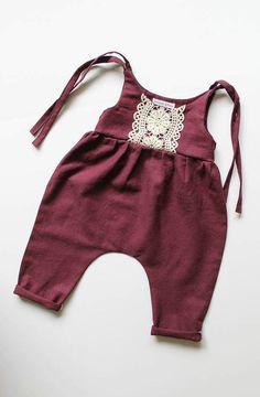 Handmade Linen & Lace Jumpsuits | StandardOfGraceShop on Etsy