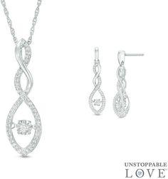 Zales 1/6 CT. T.w. Diamond Spiral Stud Earrings in Sterling Silver KuBsjJD