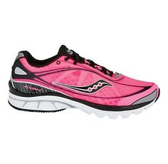LOVE Saucony running shoes, especially the pink :)
