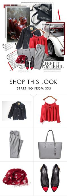 """""""Royals"""" by color-me-red ❤ liked on Polyvore featuring Lands' End and Love Moschino"""