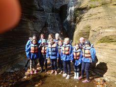GSA Troop #60705 from Irondequiot, NY @ Wolf Creek Waterfalls.  adventure-calls.com