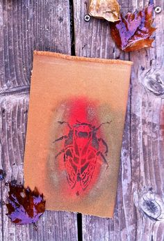 My new Cicada Stencil ! see more on my site: www.dianeericson.com