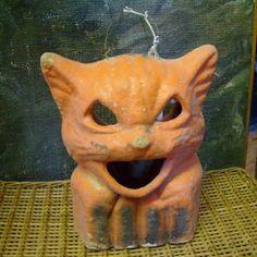 vintage cat lantern