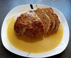 Rezept fluffliger Hackbraten mit Sahnesoße von Melanie100 - Rezept der Kategorie Hauptgerichte mit Fleisch