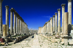 The Colonnaded Street of Jerash