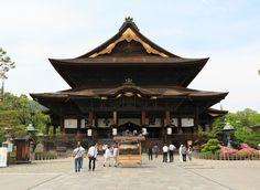 Zenko-ji Temple Nagano, Japan sky chinese architecture japanese architecture shinto shrine historic site shrine temple place of worship building pagoda leisure tree pavilion square #japanesearchitecture