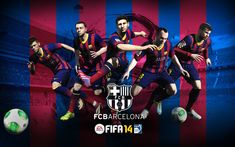 EA SPorts have recently a partnership with the best team in the World!! #FIFA14 #FCBarcelona