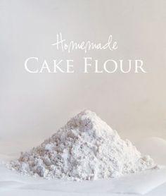 How to Make: Homemade cake flour