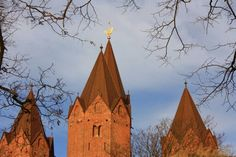 The nice day.  #kalundborg   #denmark   #denmarkphotography   #church    #nofilter   #nophotoshop   #stellahaugephoto