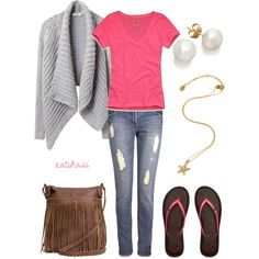 """""""Cute Summer Outfit"""" by natihasi on Polyvore"""