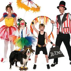 Circus Family Costume Image