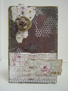 DT project by Paulien van den Bosch using the February 2014 kit, Lady Belle.