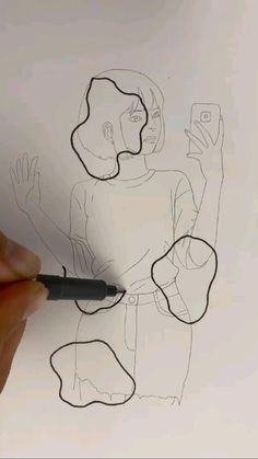 Girly Drawings, Art Drawings Sketches Simple, Cool Drawings, Art Painting Gallery, Art Drawings Beautiful, Character Drawing, Art Tutorials, Cute Art, Sketching