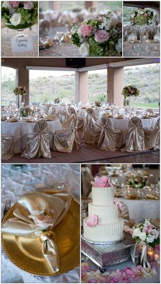 Blush Pink Wedding by www.inaweweddings.com