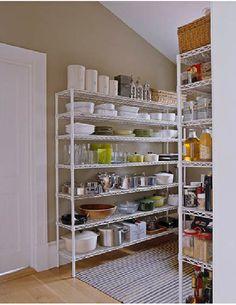 I love it! It is not hidden in a dark pantry closet.
