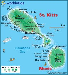 St. Kitts & Nevis - Enjoyed both visits to St. Kitts.  Snorkeled to Nevis a month ago, but not much on Nevis island.