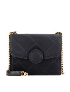 http://sellektor.com/all/mytheresa/strona-31 Mini Trouble Quilted Fabric Shoulder Bag