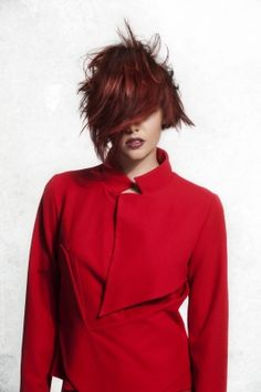 intense effects of strong red hair