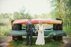 Summer Love // Simplee Photography #wedding #brideandgroom #vsco #canoe #simpleephotography