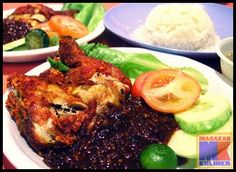 Ayam penyet the favorit food for more than 1 million people Sambal Recipe, Indonesian Cuisine, Indonesian Recipes, Basil Chicken, Tandoori Chicken, Chicken Recipes, Food Porn, Food And Drink, Cooking Recipes