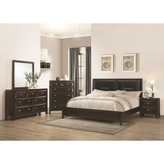 Balboa 4-Piece Bedroom Collection