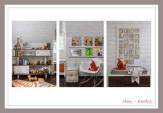 Interior Design by Sissy + Marley Photgraphy by Marco Ricca Wallpaper by Sissy + Marley for Jill Malek I have been comp. Giraffes, Animal Kingdom, Safari, Kids Room, Juice, Neutral, Nursery, Interior Design, Children
