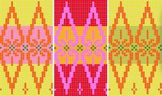 Rondo | Julia Farwell-Clay  A mini-tutorial on choosing colours to work in Julia's Knitty pattern, Rondo