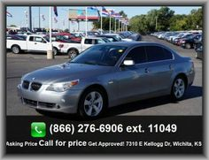 2007 BMW 5 Series 525xi Sedan  Tires: Width: 225 Mm, Total Number Of Speakers: 10, Variable Intermittent Front Wipers, Window Grid Antenna, Strut Front Suspension, Trip Computer,