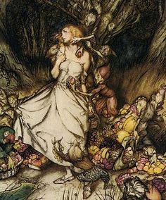 The Wee Folk, the Fair Folk, and the Fae are all names given to the fairies, those winsome creatures who filled the pages of our childhood stories. In the original fairy stories, these creatures were far from charming and were considered to be the cause of mischief and maladies, from soured milk to sudden death.