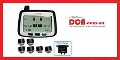 Tyredog 6 Wheel Tyre Pressure Monitor to 180 PSI) Monitor, Shop, Store