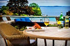 Take a dip at the pool at the Samoset Resort
