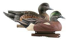 Greenhead Gear Life-Size Duck Decoy,Wigeons,1/2 Dozen   http://huntinggearsuperstore.com/product/greenhead-gear-life-size-duck-decoywigeons12-dozen/