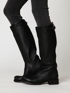 I cannot wait til you babies are nestled safely in my closet!!!!  ... except in brown...Free People Destroyer Tall Boot,