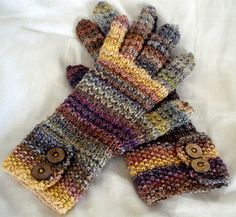 I am in love with this pattern in this handspun yarn thus far. This is an easy pattern and the finished gloves are comfy and adorable. Can't wait to wear them this winter!  Handspun details: ...