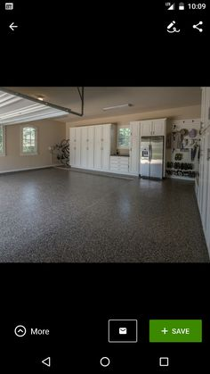 Diygarageflooring epoxy garage flooring flooring page 2 cheap fridge in garage with chest freezer and utility sink solutioingenieria Gallery