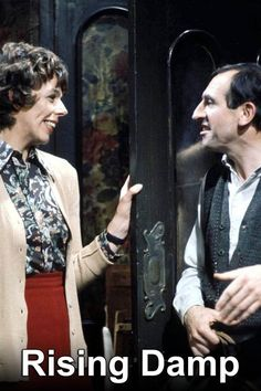 Rising Damp-British television programme. Rising Damp is a British sitcom produced by Yorkshire Television for ITV. ITV originally broadcast the programme from 1974 until 1978. It was adapted for television by Eric Chappell from his well-received 1971 stage play The Banana Box. Starring Rising Damp starred Leonard Rossiter/ Frances de la Tour, Richard Beckinsale and Don Warrington British Sitcoms, British Comedy, Richard Beckinsale, Leonard Rossiter, Rising Damp, Are You Being Served, Stage Play, Those Were The Days, Television Program