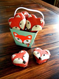 Candy Foxes for Valentines Day #yearofcelebrations