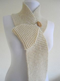 scarf – no pattern, just inspiration! But it is so simple yet so practical!