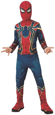b54fd441db Exciting Marvel Avengers Infinity War Iron Spider Child Costume. Elegent  ideas of Marvel Costumes for