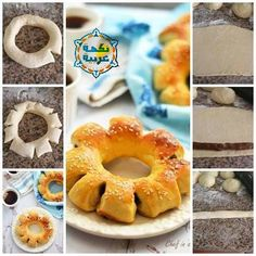 Date bread rings