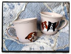 cup of coffee with border collies ;)