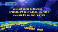 Les sept coups de tonnerre — prophétisant que l'évangile du règne se rép...