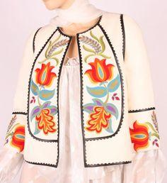 Demetria embroidered jacket